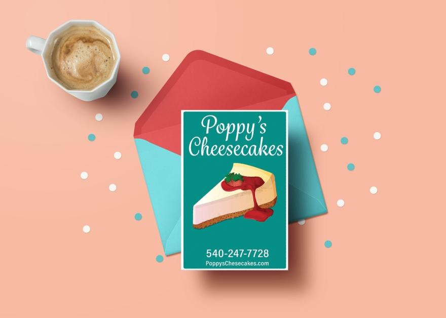 Poppys Cheesecakes Seasonal-Greeting-Card-Mockup-PSD